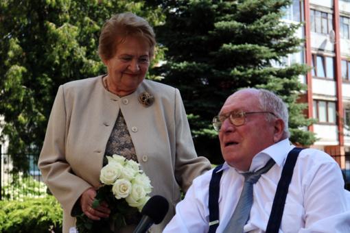 """50 metų kartu: """"Ačiū Dievui, kad mus likimas suvedė"""" (VIDEO)"""