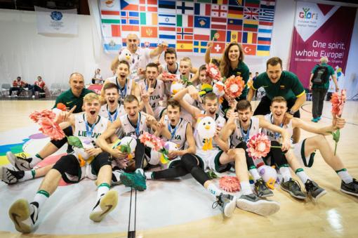 Lietuvos krepšininkai – olimpinio festivalio čempionai