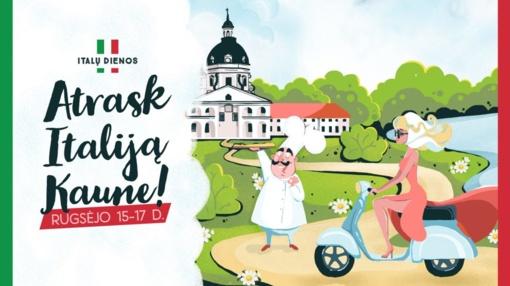Kaune rudenį vyks itališkos kultūros šventė