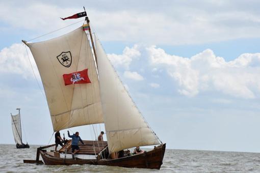 """Kuršių mariose vyko tradicinių ir istorinių burlaivių regata """"Burpilis"""""""