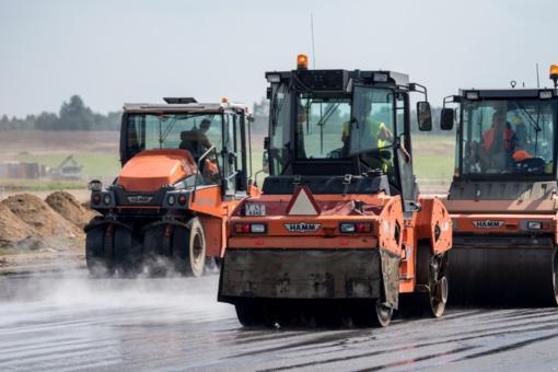 Vilniaus oro uosto tako rekonstrukcija bus baigta laiku