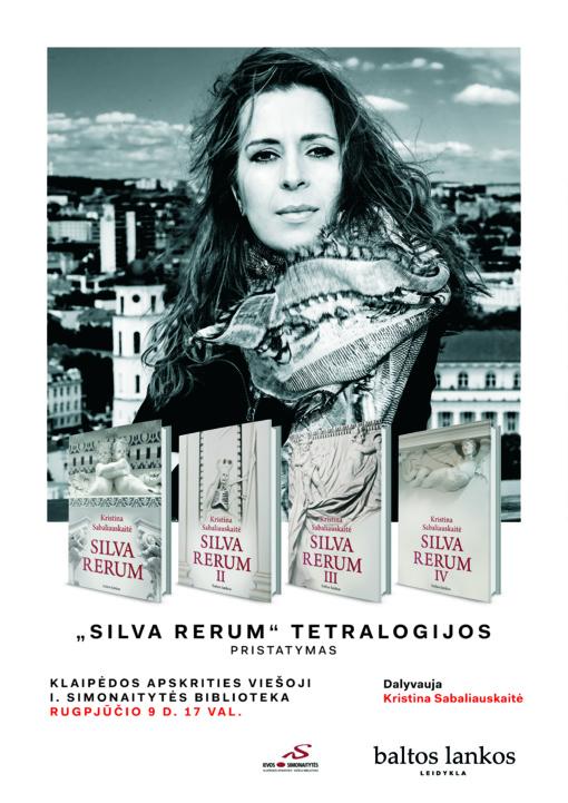 """Išskirtinis """"Silva Rerum IV"""" pristatymas"""