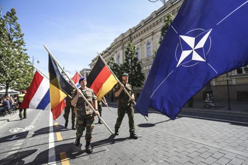 Vyks NATO priešakinių pajėgų bataliono kovinės grupės rotacijų pasikeitimo ceremonija