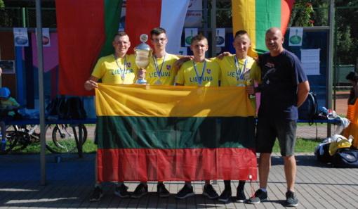 Lazdijiečiai – tarptautinio bavariškojo akmenslydžio turnyro nugalėtojai