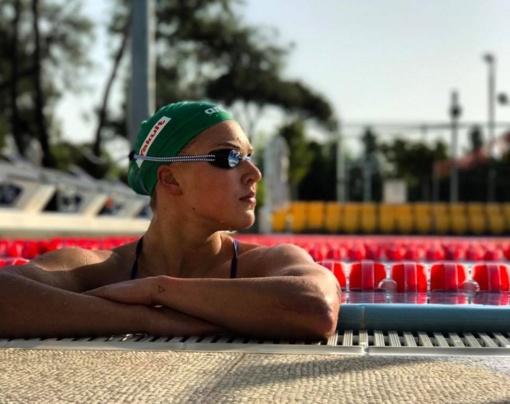 Plaukikė R. Meilutytė pasaulio taurės varžybose Maskvoje iškovojo sidabrą