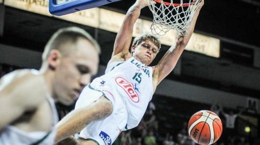 Draugiškas rungtynės su Lenkija praleis penki Lietuvos krepšininkai