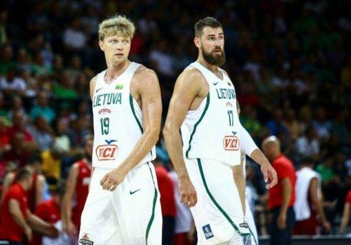 Lietuvos krepšininkai pralaimėjo Latvijos rinktinei
