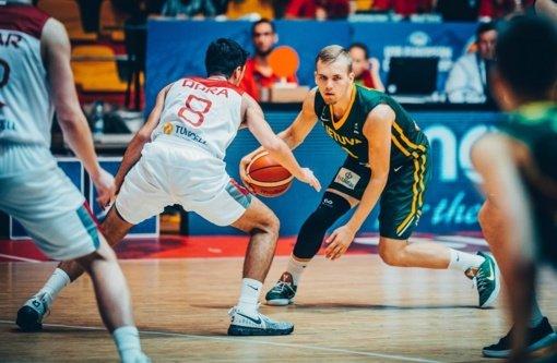 Lietuvos 18-mečiai per pratęsimą išplėšė Europos čempionato bronzą