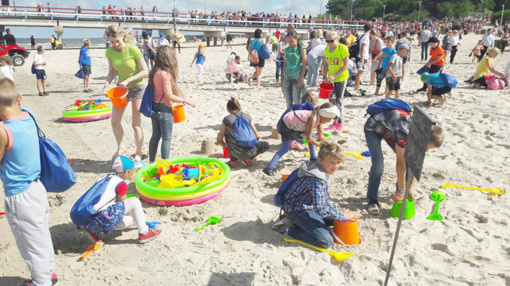 """Projekte """"Pasveikink jūrą Palangoje"""" dalyvavo ir Šateikių seniūnijos vaikai"""