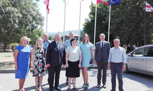 Klaipėdos rajono savivaldybė suteiks paramą Gruzijos Akhmetos savivaldybei