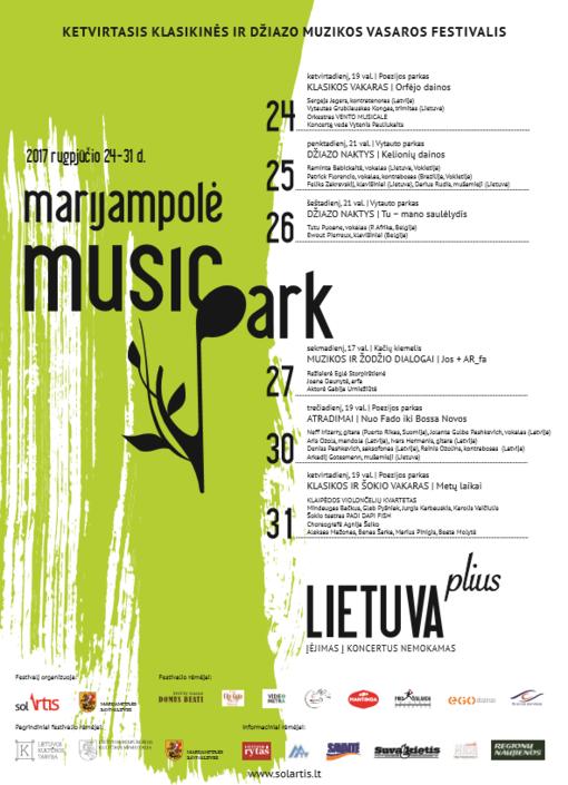 """Tik idėjai įsipareigojęs festivalis – """"Marijampolė Music Park"""""""