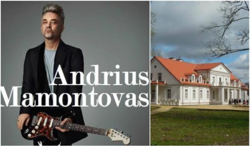 Ilzenbergo dvare A. Mamontovas surengs išskirtinį koncertą