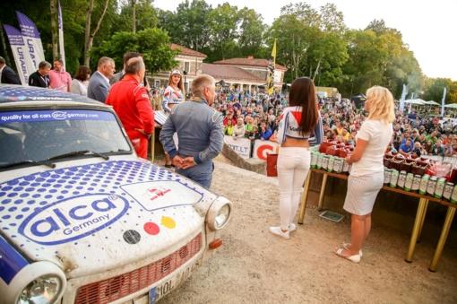 Rokiškio ralio organizatoriai dėkojo miesto žmonėms ir žadėjo sugrįžti