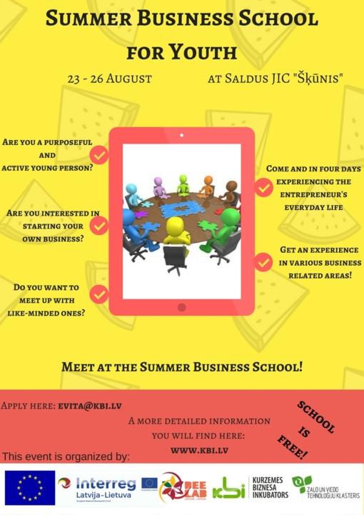 Vasaros verslumo mokykla