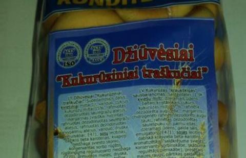 Konditerijos gaminiuose iš Ukrainos - nedeklaruoti GMO