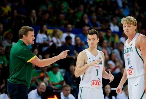 Lietuvos krepšininkai laukia kietos kovos su gruzinais