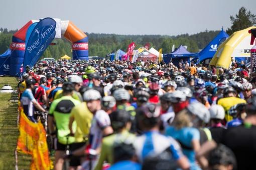 Karališkasis MTB dviračių maratonų taurės etapas kviečia į Ignaliną
