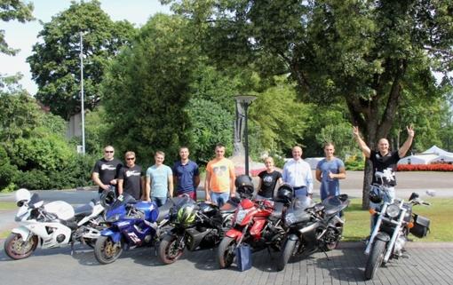"""Druskininkų meras pasveikino """"Mototourism Rally 2017"""" dalyvius"""
