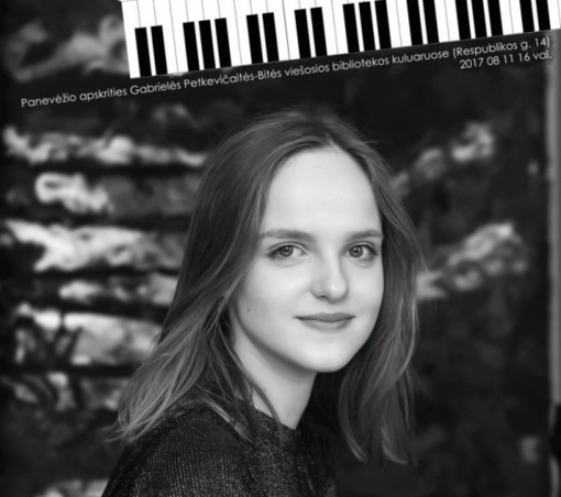 Panevėžyje - išskirtinis jaunosios pianistės koncertas