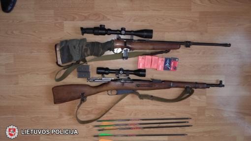 Namo rūsyje - draudžiamas arsenalas (VIDEO)