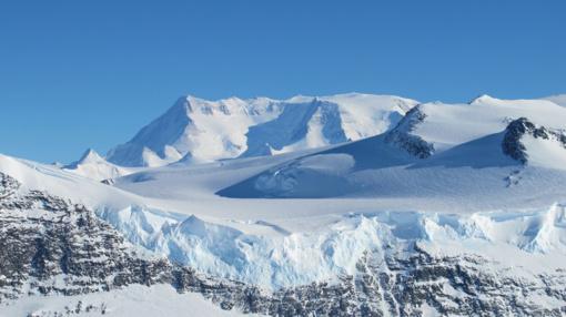 Antarktidoje atrasta beveik 100 nežinomų ugnikalnių