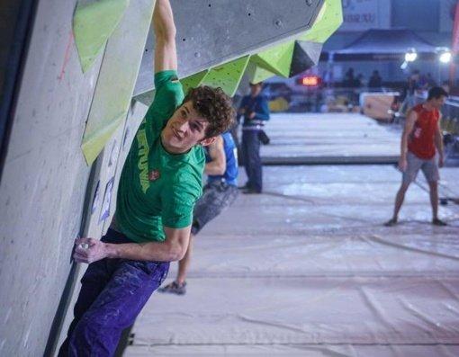 K. Baltrūnas Europos laipiojimo čempionate užėmė 27-ąją vietą