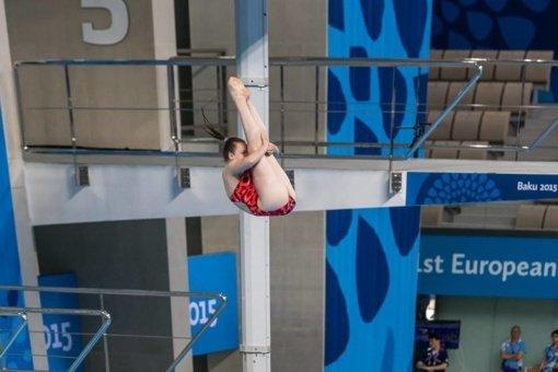 Šuolininkė į vandenį I. Girdauskaitė universiadoje užėmė 24-ąją vietą