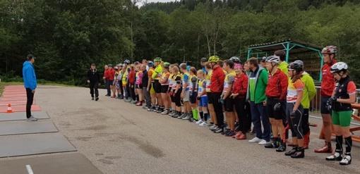Stipriausi šalies biatlonininkai dėl čempionų titulų varžėsi Ignalinoje