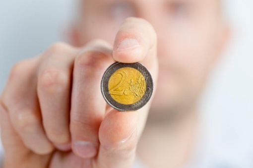 Išleidžiama proginė 2 eurų moneta, skirta Vilniui