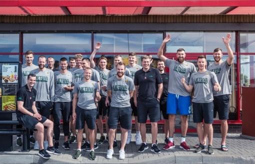 Garsūs Lietuvos krepšininkai atskleidė savo pusryčių įpročius