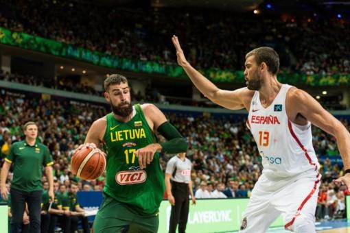 Lietuvos krepšininkai draugiškose rungtynėse nusileido ispanams