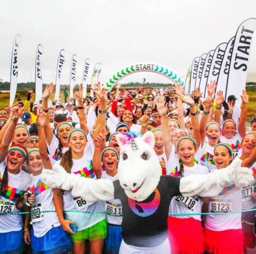 """Vasarą Vilniuje pratęs spalvotasis bėgimas """"The Color Run"""""""
