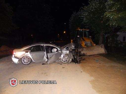 Nukentėjusiems avarijose prireikė rimtos medikų pagalbos