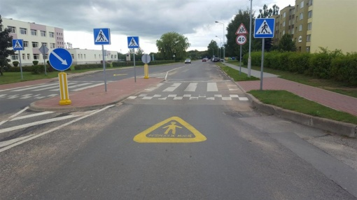 Saugumas keliuose – svarbiausia rudens pradžios pamoka