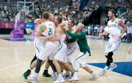 Triumfas Universiadoje: Lietuvos studentų rinktinė finale nukovė JAV