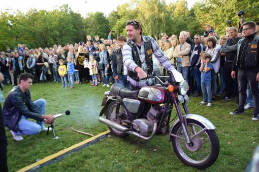 Mažeikius drebino rokas ir motociklų griausmas (FOTO)