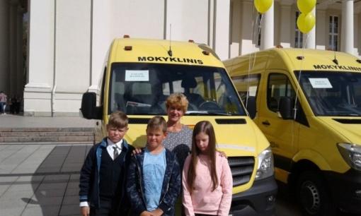 Naujas geltonasis autobusiukas riedės ir Zarasų rajono keliais