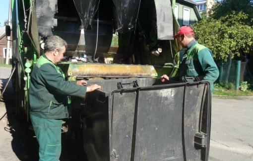 Buitinių (komunalinių), pakuočių, stiklo bei maisto atliekų surinkimo grafikas