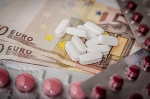 Ministerija pristatys ketinimus mažinti vaistų kainas