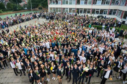 Mokslo metus pradeda beveik pusė milijono moksleivių ir studentų