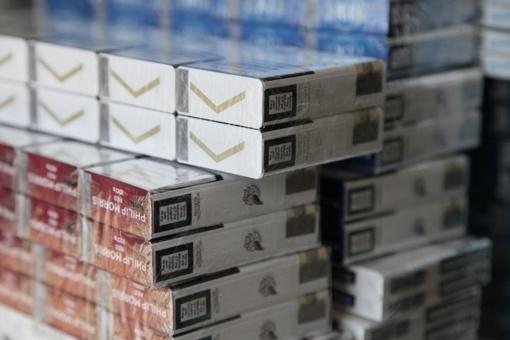 Tyrimas: Lietuva dėl šešėlinės prekybos rūkalais neteko 66 mln. eurų