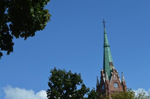 Bažnyčios bokštas jau netrukus pakvies iš aukštai pasigrožėti Palanga