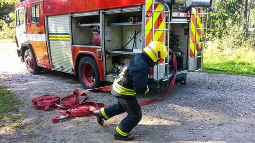 Ugniagesiai gelbėtojai išsiaiškino savo geriausius