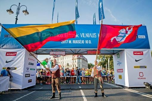 Vilniaus maratone – 14,5 tūkst. dalyvių iš 56 šalių