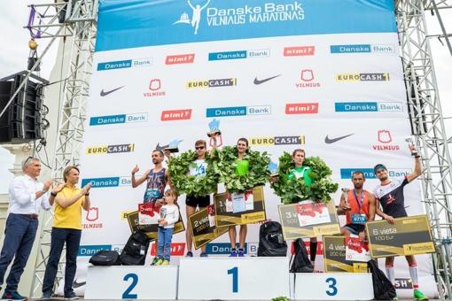 Vilniaus maratoną laimėjo bėgikai iš Baltarusijos ir Ukrainos