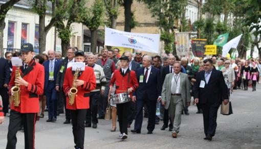Lazdijų meras svečiavosi Kalvarijos krašto šventėje
