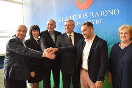 Klaipėdos rajono savivaldybė bendradarbiaus su Akhmetos (Gruzija) savivaldybe