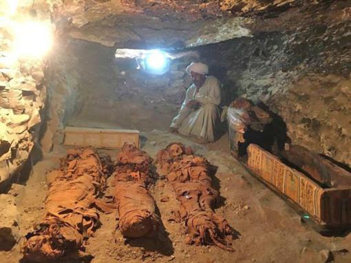 Egipte rasta 3 500 metų senumo kapavietė