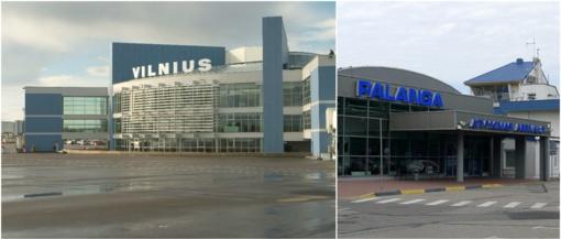 Palangos ir Vilniaus oro uostuose pasieniečiai sulaikė du triukšmavusius vyrus