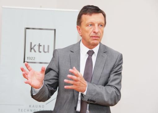 VTEK: buvęs Kauno technologijos universiteto rektorius P. Baršauskas pažeidė įstatymą